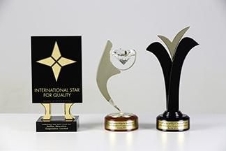 International Star Award, Diamond Prize Award, and ESQR's Quality Choice Prize