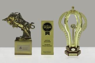 Super Golden Bull Award, Influential Brands Award, and International Quality Crown Award