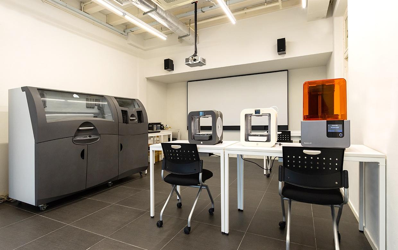 raffles 3D printing lab