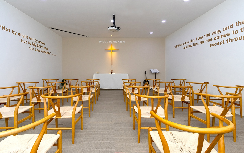 raffles chapel