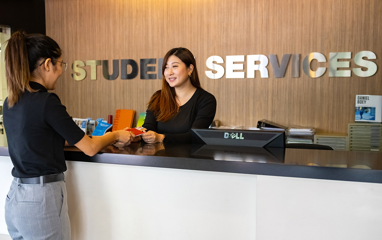 student services counter