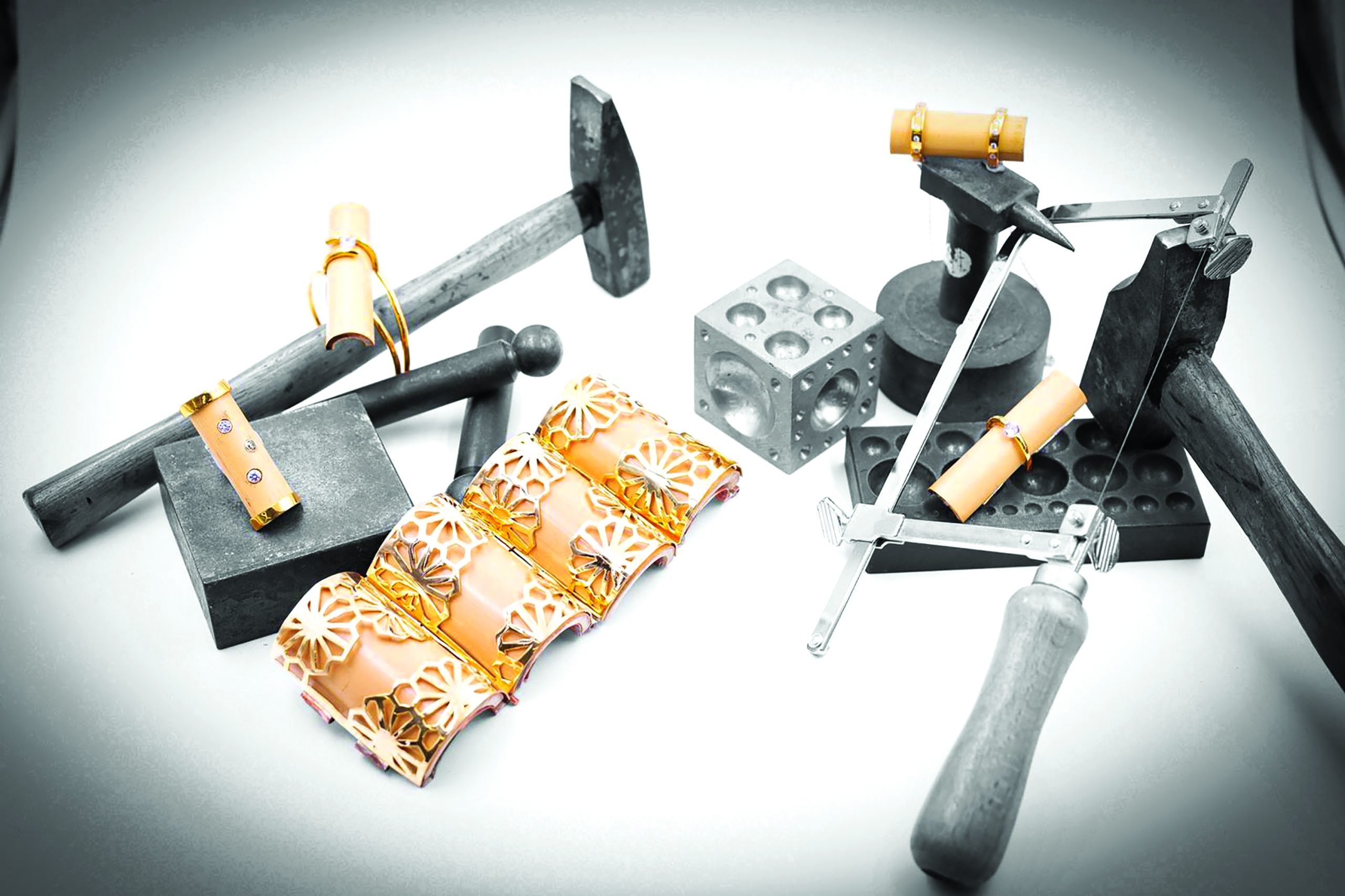 Sustainable jewellery design by Mifuyu Fukai