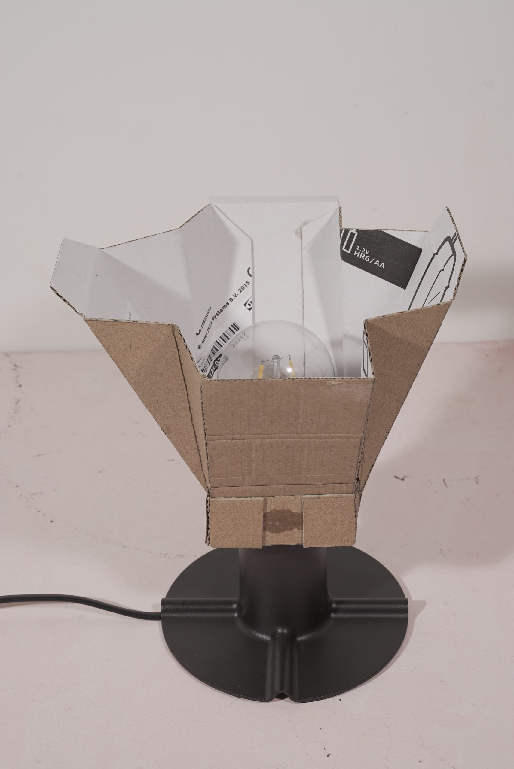 glödlampa packaging lamp product