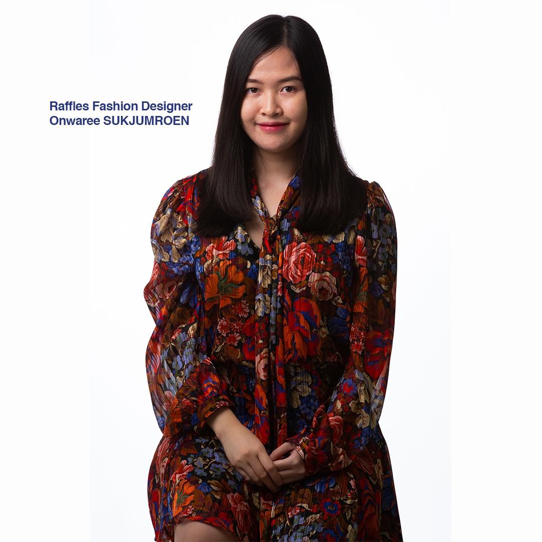 raffles fashion designer onwaree sukjumreon