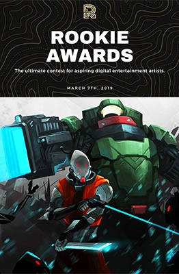 rookie awards 2019 with student work feature image