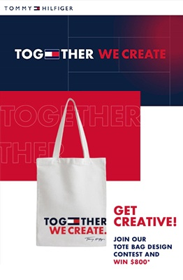 Tommy Hilfiger Together We Create Tote Bag contest 2020 feature image