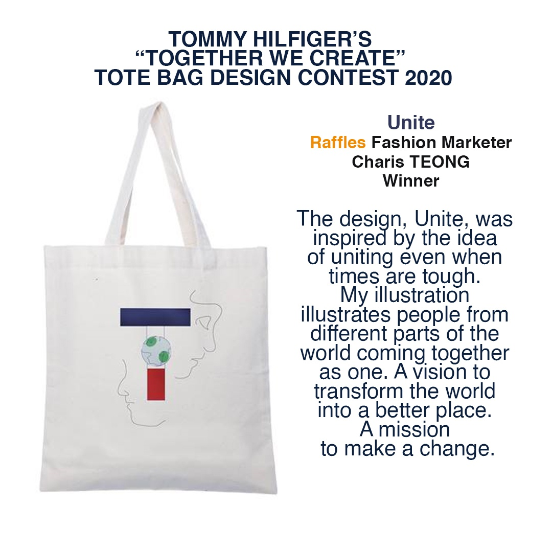 Unite Charis Teong Winner Tommy Hilfiger Tote Bag