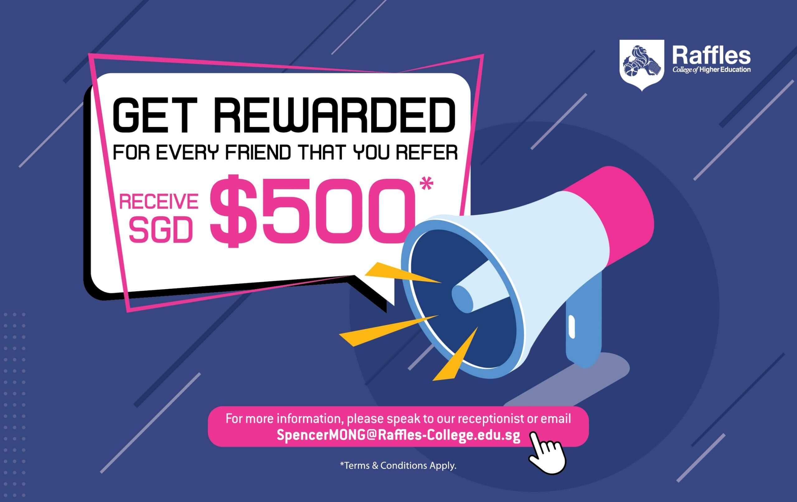 referral programme $500