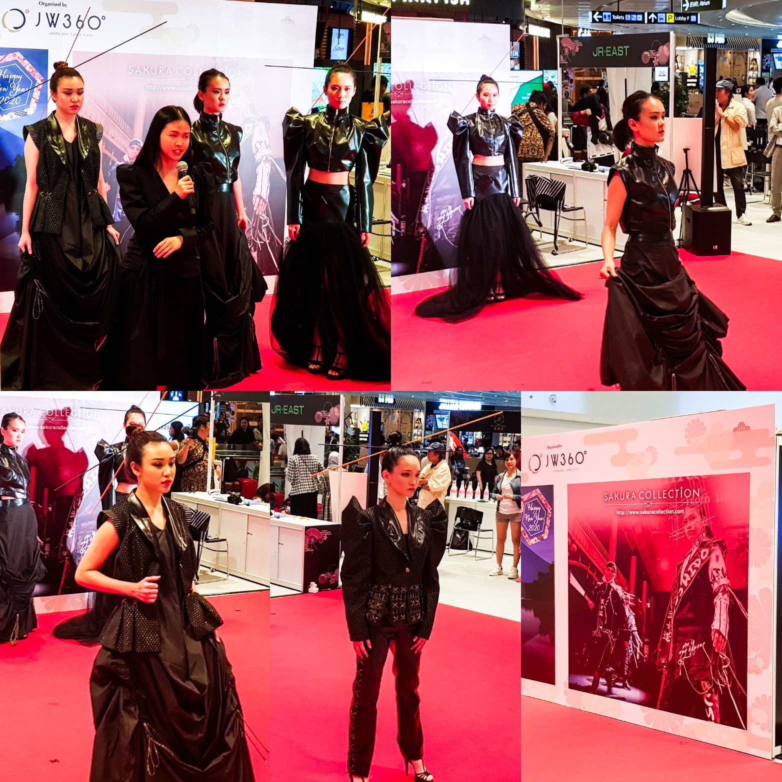 Sakura Collection Asia Student Awards 2020 Award ceremony Jewel Changi Airport International Onwaree Black collection