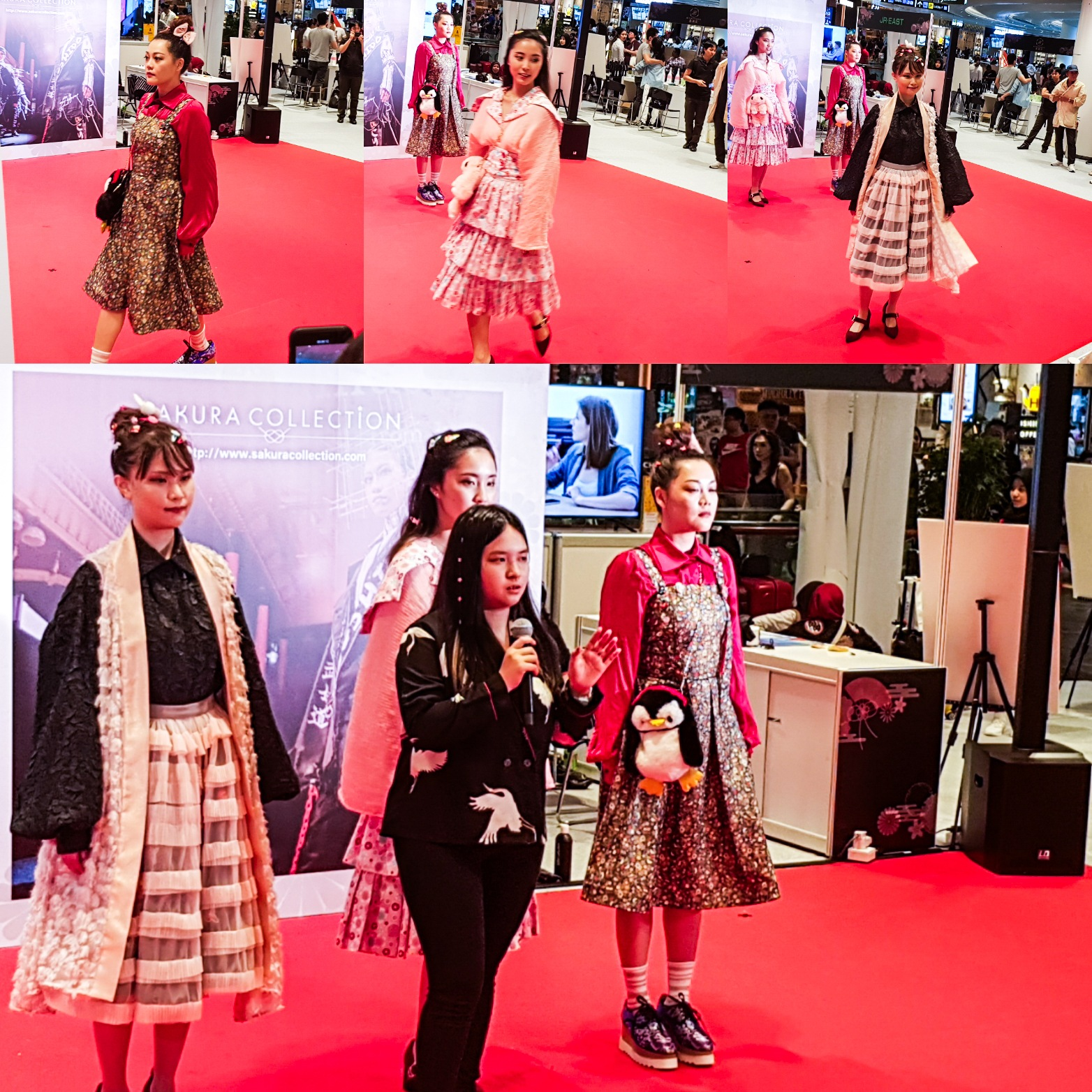 Sakura Collection Asia Student Awards 2020 Award ceremony Jewel Changi Airport International Raffles Fashion Designer Collection