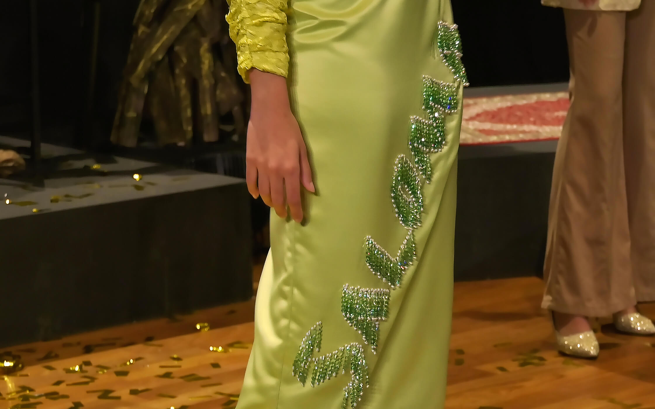 Arab Street URA Raffles Recreating the Textile Culture Collaboration from One Kampung Glam Cahaya Ramadan Live Stream Fashion Show 12