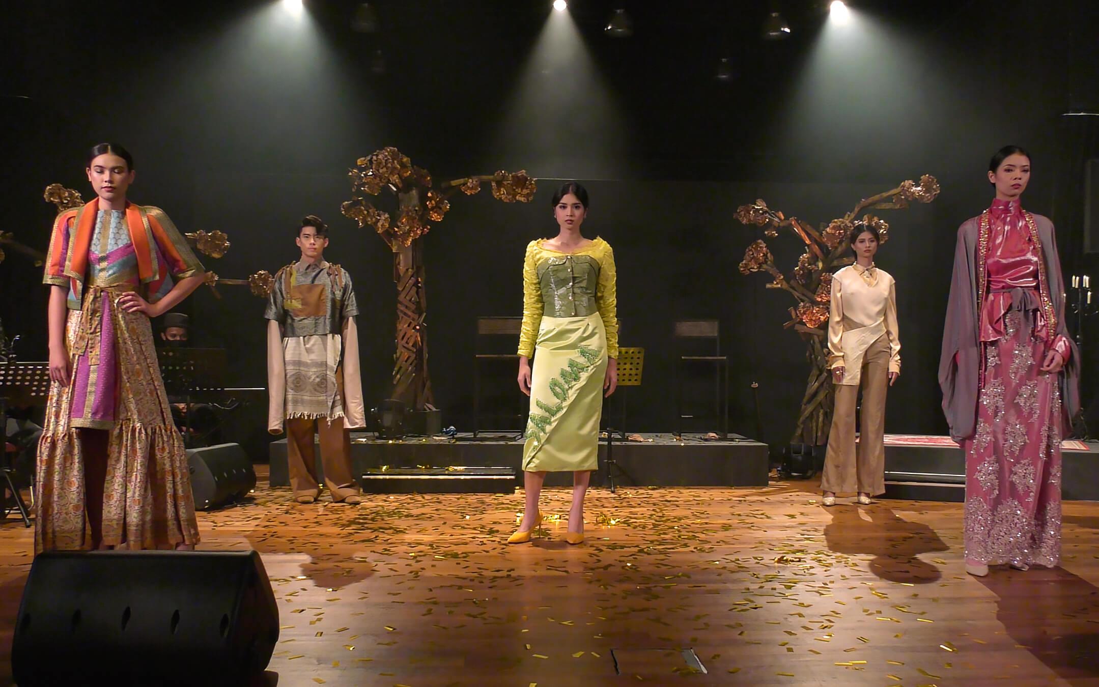 Arab Street URA Raffles Recreating the Textile Culture Collaboration from One Kampung Glam Cahaya Ramadan Live Stream Fashion Show 2