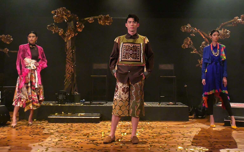 Arab Street URA Raffles Recreating the Textile Culture Collaboration from One Kampung Glam Cahaya Ramadan Live Stream Fashion Show 5