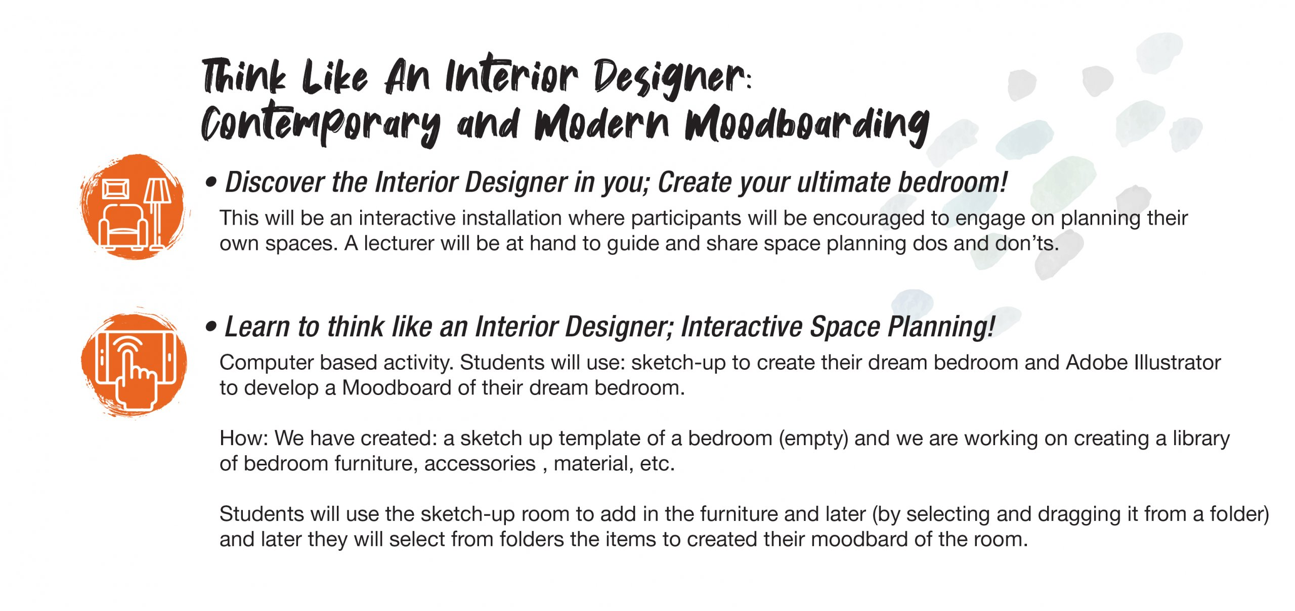 Design Inspiration Interior Design Workshop