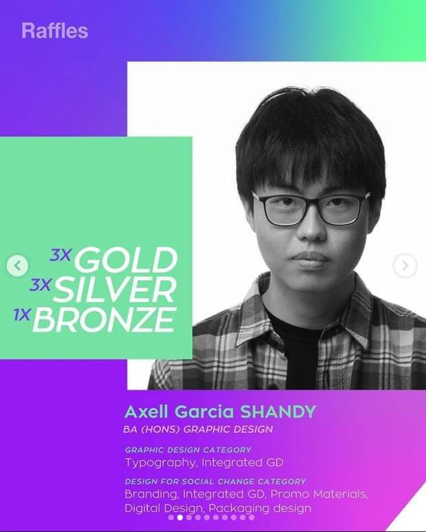 Indigo Design Awards 2021 Axel Garcia Shandy Prize Announcement
