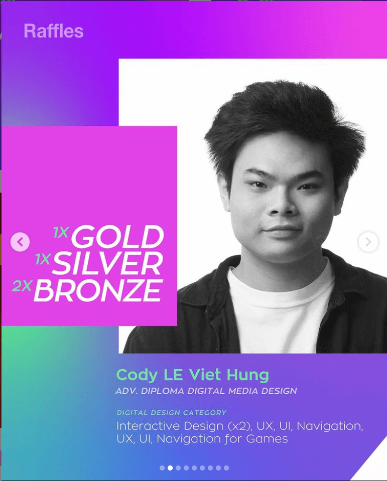 Indigo Design Awards 2021 Cody Le viet hung Prize Announcement