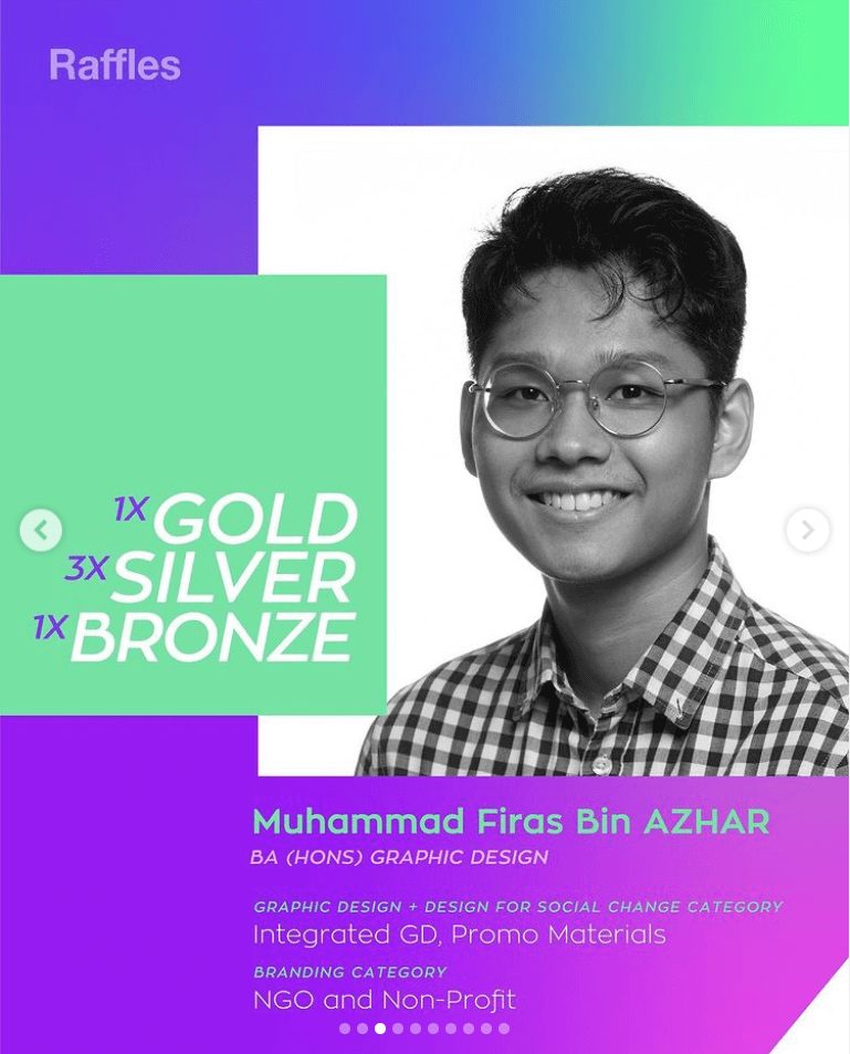 Indigo Design Awards 2021 Muhammad Firas Bin Azhar Prize Announcement