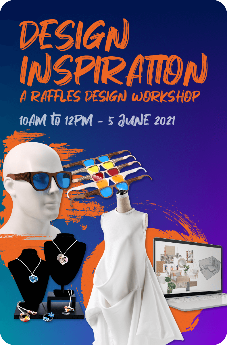 Design Inspiration a Raffles Design Workshop Homepage Banner