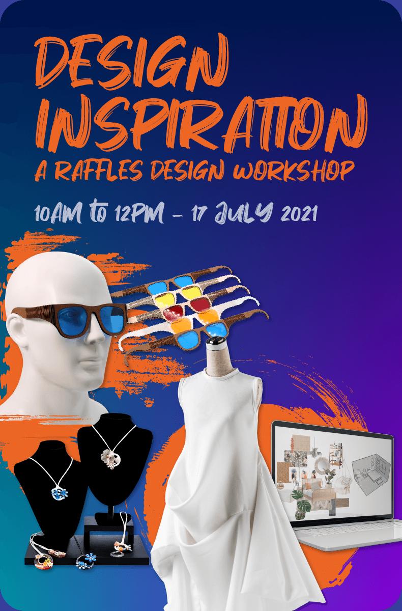 Design Inspiration a Raffles Design Workshop Homepage Banner