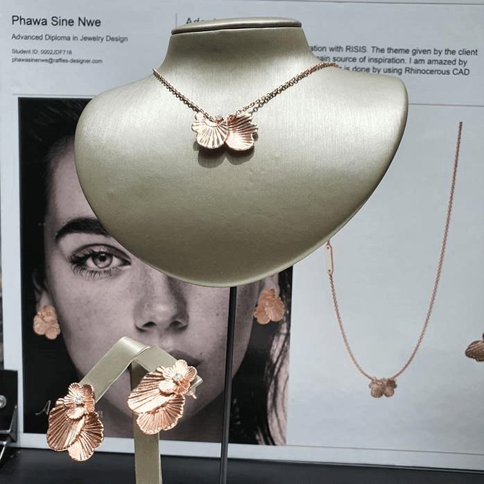 RISIS Raffles Jewelley Design Collaboration 2020 Adaptation Phawa Sine Nwe