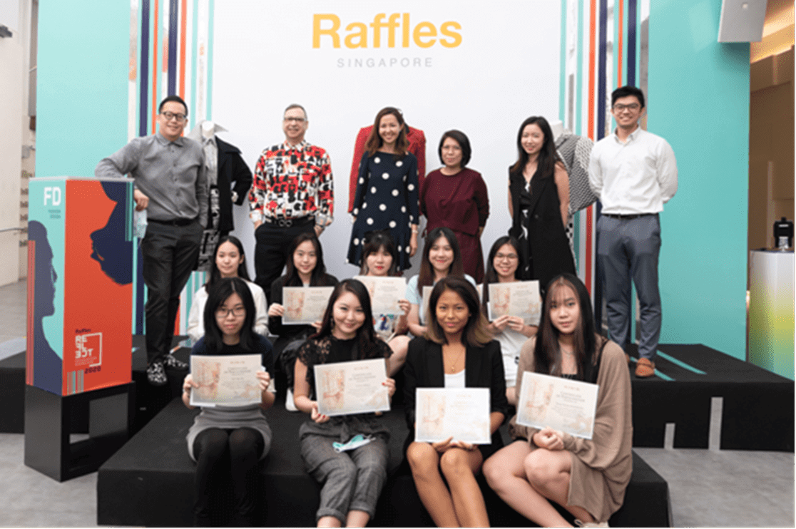 RISIS Raffles Jewelley Design Collaboration 2020 Group Picture