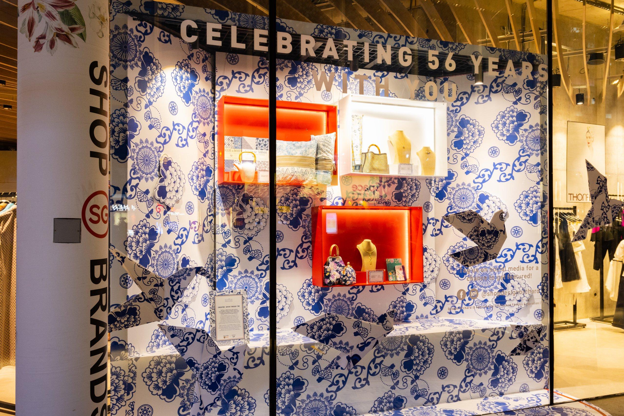 Design Orchard Raffles Heritage Festival 2021 Visual Window Display 3