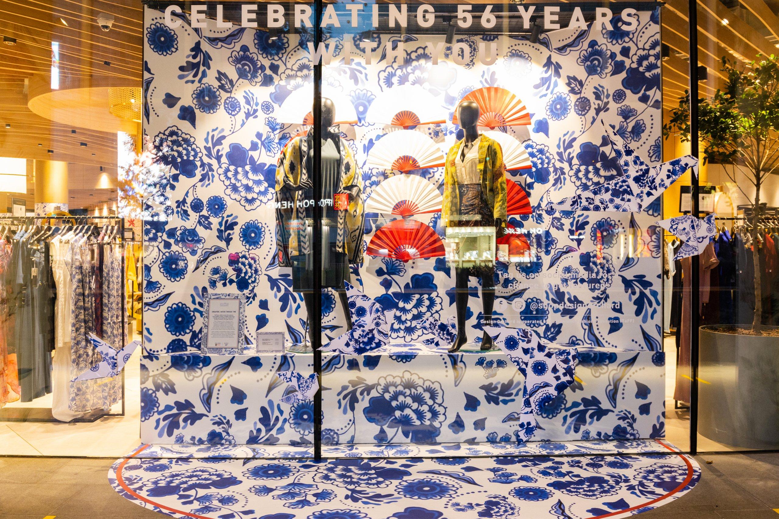 Design Orchard Raffles Heritage Festival 2021 Visual Window Display 6