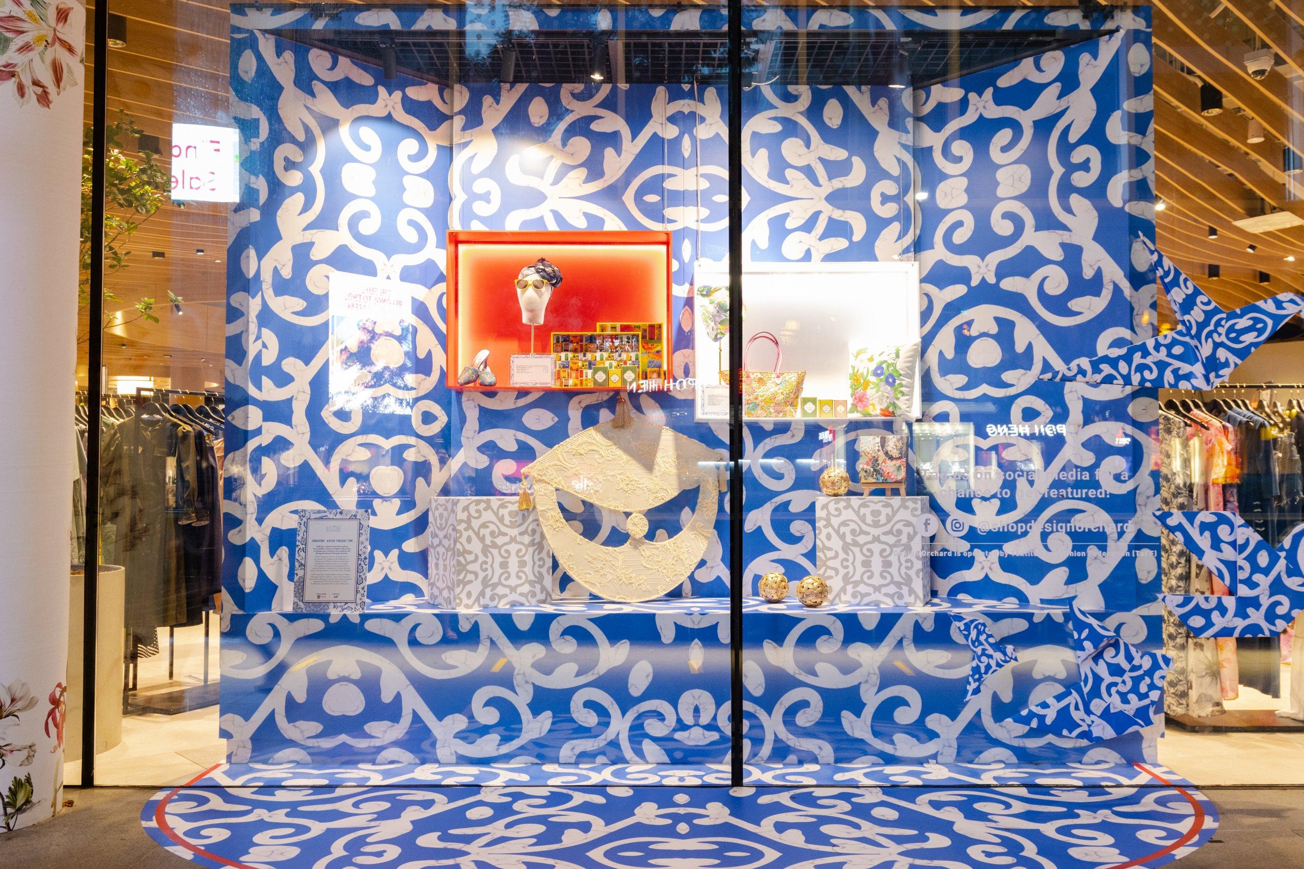 Design Orchard Raffles Heritage Festival 2021 Visual Window Display 7