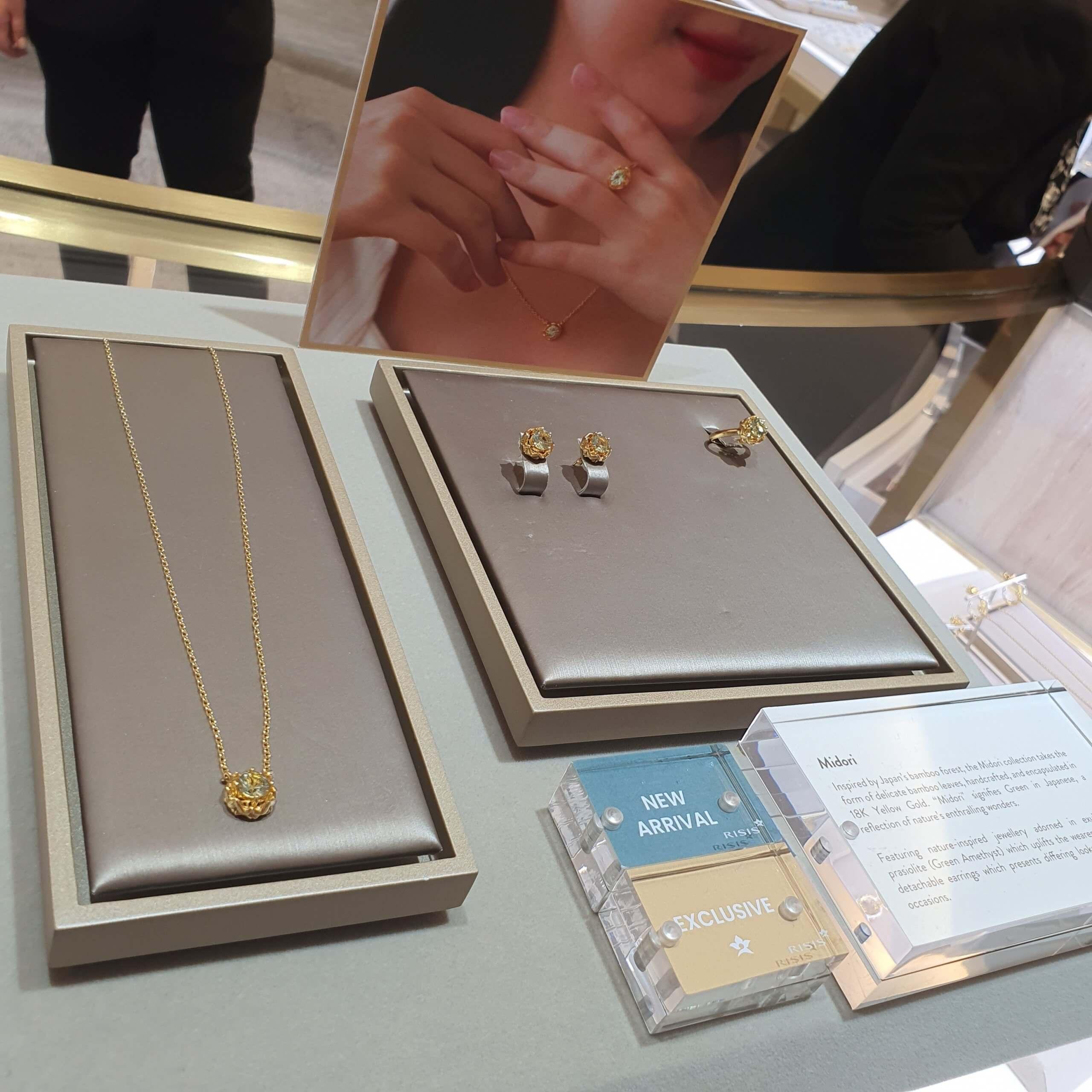 Midori Collection Display