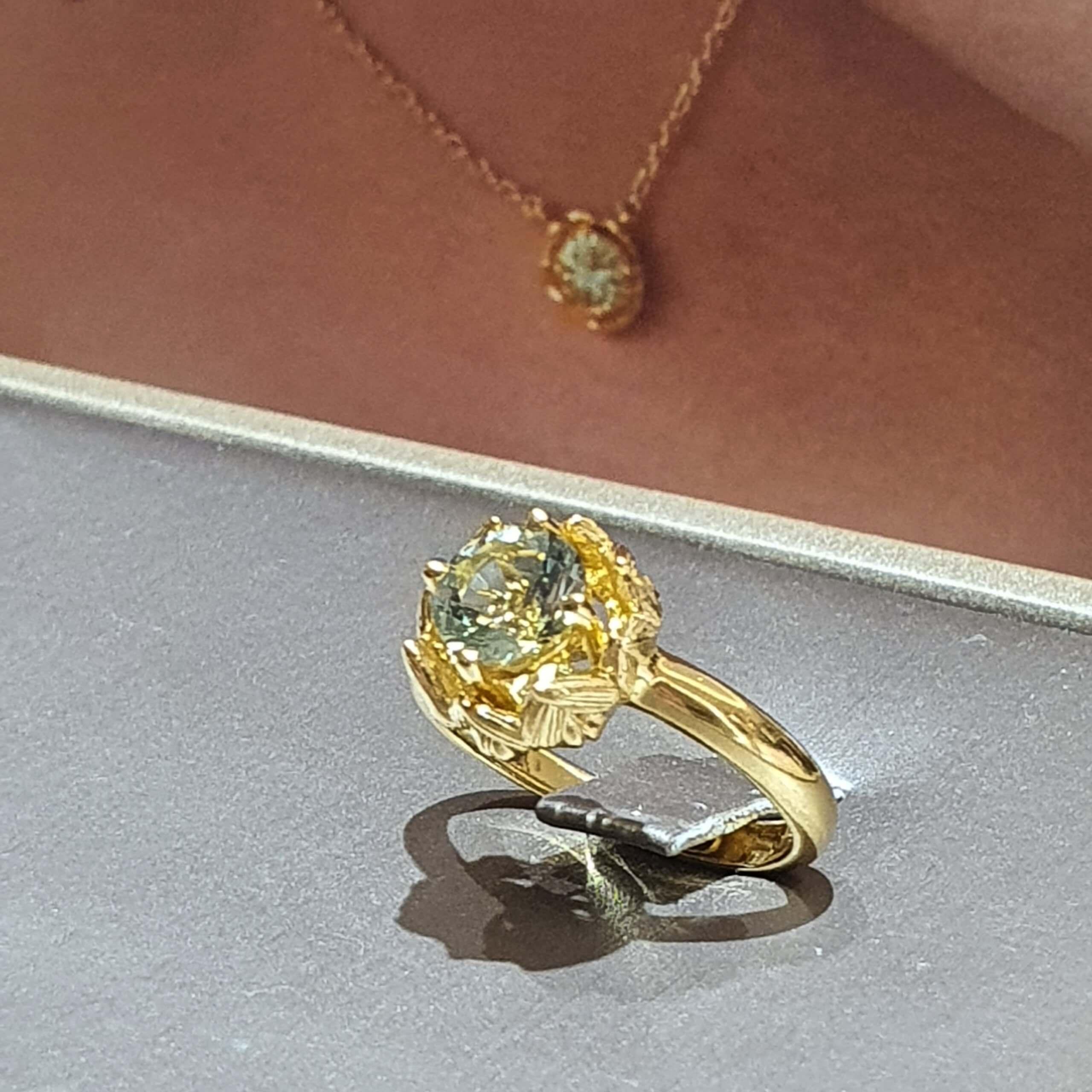 RISIS Mifuyu Fukai Midori Collection Ring