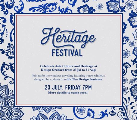 Heritage Festival Design Orchard Poster