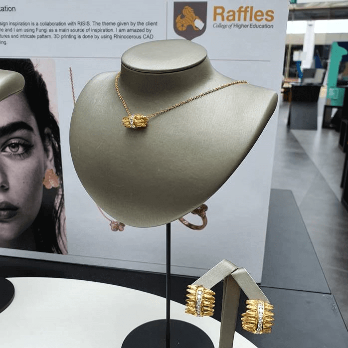 RISIS Raffles Jewelley Design Collaboration 2020 Reconnection Mifuyu Fujkai